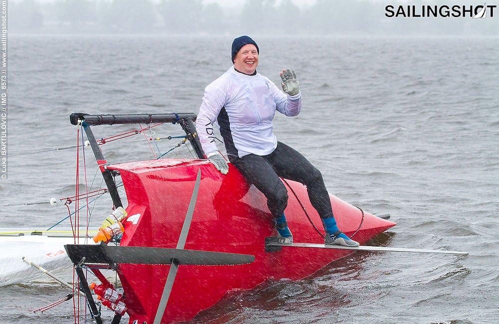 Ottawa River Skiff Sailing